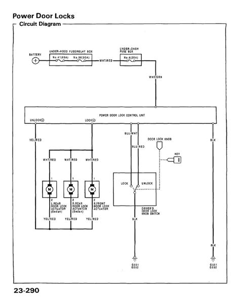 2000 Acura Tl Electric Schematic by Power Door Lock Install Stock Oem Parts Honda