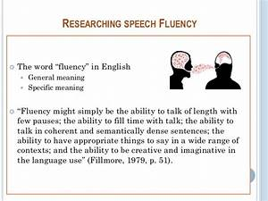 Final Speech Fluency Workshop