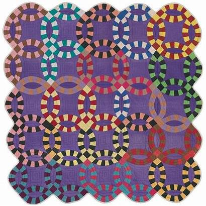 Quilt Ring Quilts Double Museum Colors African