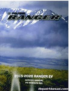 2015 2016 2017 2018 2019 2020 Polaris Ranger Ev Electric