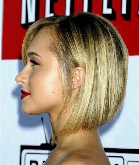 graduated bob haircut trendy short hairstyles  women pretty designs
