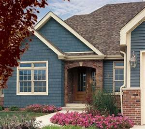 colors for siding with red brick - Google Search siding