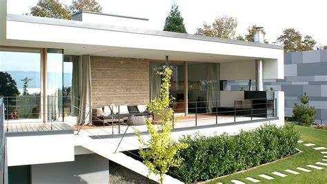Modernes Haus by Modernes Haus Mit Flachdach Im Salzburger Seenland Hessl