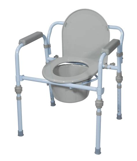 target toilet paper steel commode chair folding