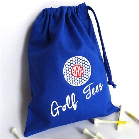 personalised golf tee bag  frozen fire notonthehighstreetcom