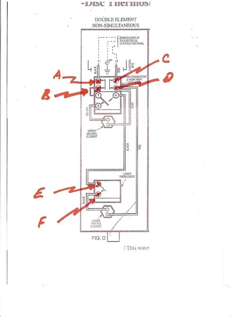 rheem electric water heater wiring diagram free wiring diagram