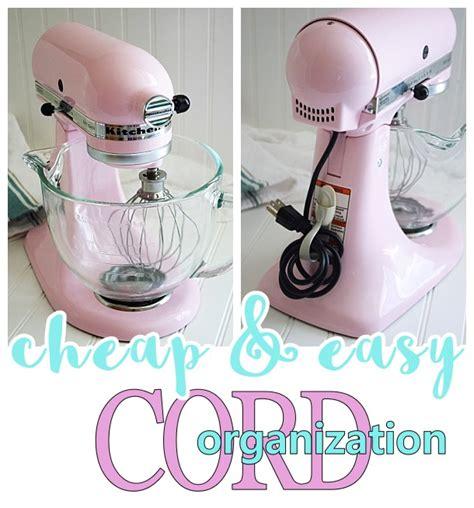 how to organize small kitchen appliances small kitchen appliance and power tool cord organization 8774