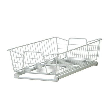 Closetmaid Wire Organizer by Closetmaid 5 25 In X 11 In X 20 In White Wire Cabinet