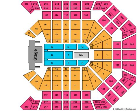 Mgm Grand Floor Plan 2017 by Cheap Mgm Grand Garden Arena Tickets