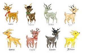 All Santa Reindeer Names
