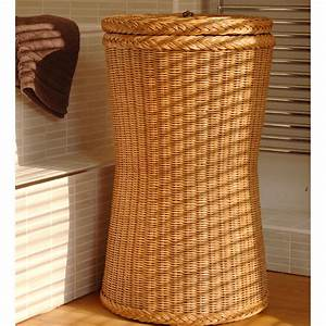 Tall, Brown, Laundry, Basket