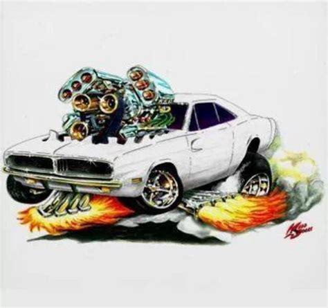 Cars, Cartoon And