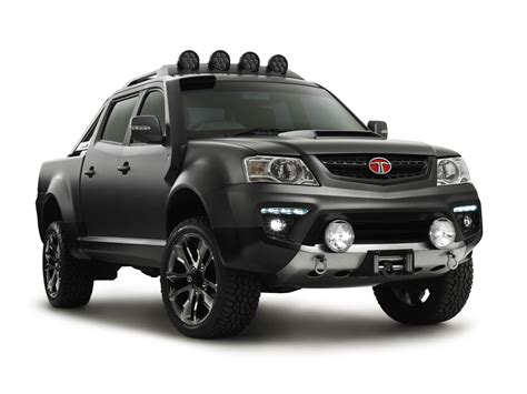 Tata Xenon Wallpapers by Hd 2013 Tata Xenon Tuff Truck Concept Fusion Automotive
