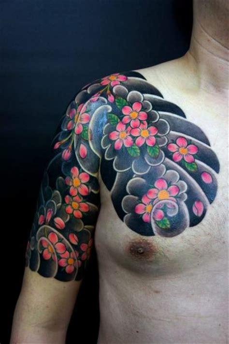 tatouage epaule japonais par og tattoo
