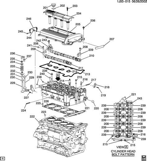 Chevy Cavalier Engine Diagram Automotive Parts