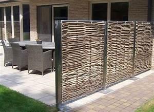 17 meilleures idees a propos de clotures metalliques sur With idee amenagement jardin avec piscine 11 brise vue balcon en quelques idees interessantes