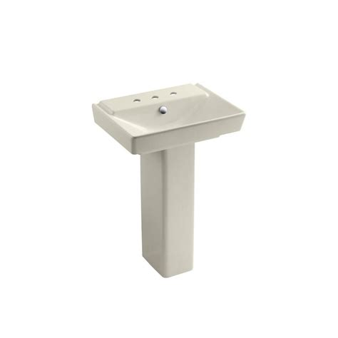 bathroom sink drain home depot kohler memoirs ceramic pedestal combo bathroom sink in ice