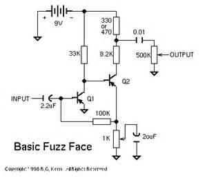 fuzz face circuit diagram diy electronics pinterest With guitar fuzz circuit