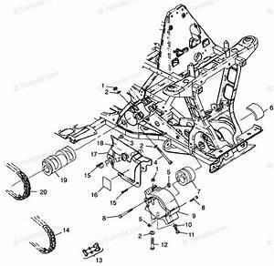 Polaris Atv 1998 Oem Parts Diagram For Front Drive Xplorer