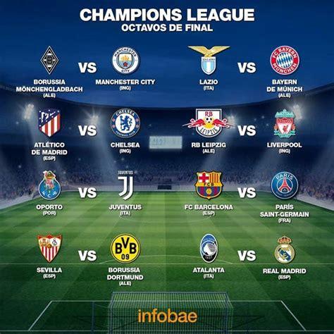 Se sortearon los octavos de la Champions: Barcelona vs PSG ...
