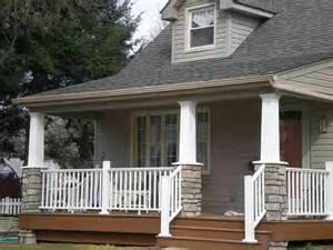 Cape Cod Craftsman Style Porch