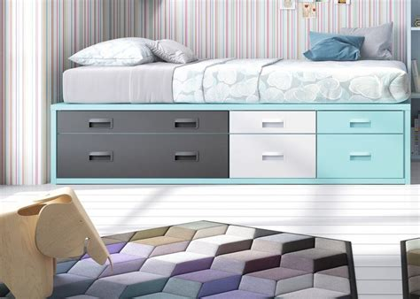camas compactas  cajones compacta  tres cajones