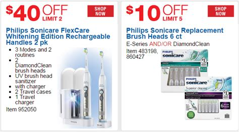 Costco Coupon Saves You $40 off Sonicare Flexcare
