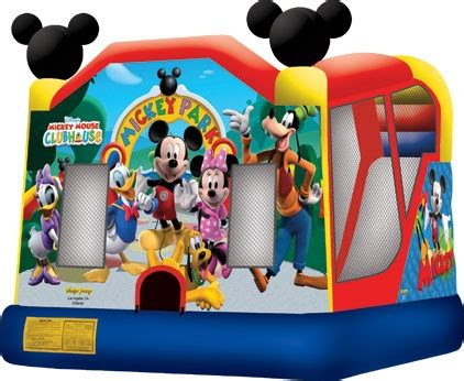 amusement inflatable mickey park    combo taylor