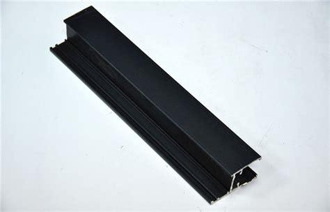 large glass windows black powder coating aluminum frame aluminium profile for