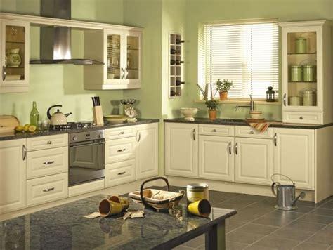 beautiful kitchens  green walls