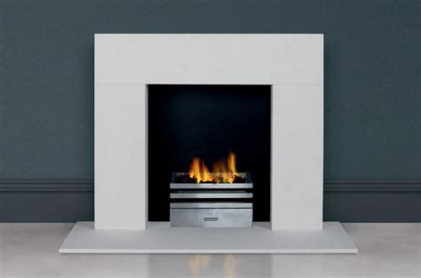 Gas Fireplace  Contemporary  Open Hearth Floormounted
