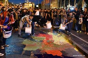 Protest against wiretapping amnesty held in Macedonia ...