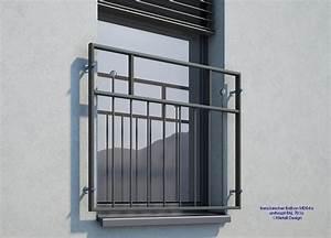 Französischer Balkon Pulverbeschichtet : franz sischer balkon md04ap pulverbeschichtet anthrazit ral7016 deutschland ~ Orissabook.com Haus und Dekorationen