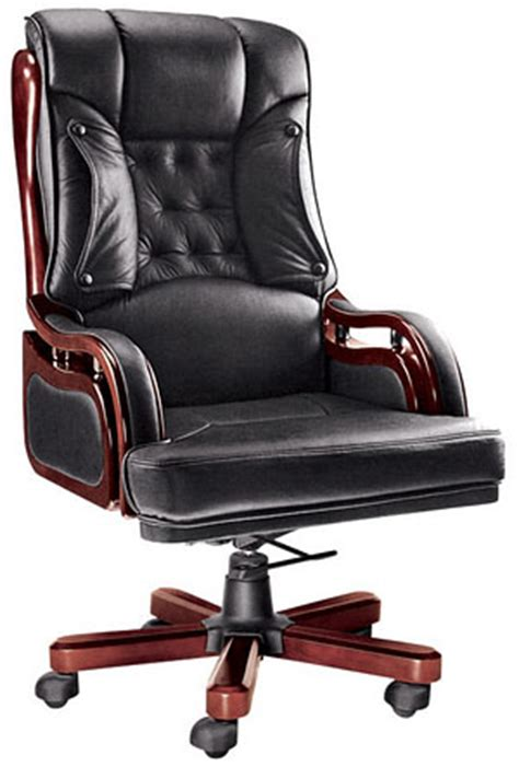 enjoy your work day with an executive leather office chair