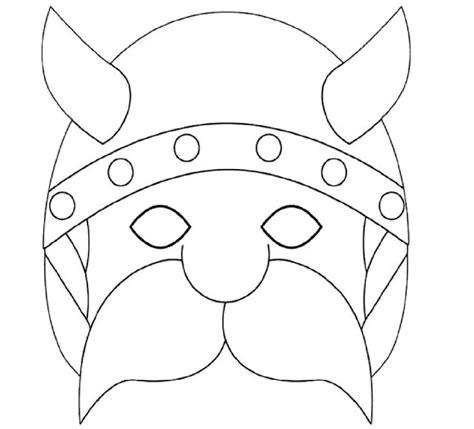 masque a colorier et a imprimer gratuit coloriage masque gaulois 224 imprimer