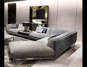 Nella vetrina visionnaire ipe cavalli legend sectional in for Small italian sectional sofa