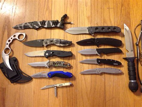 Knife Collection by My Relatively Small Knife Collection Knives