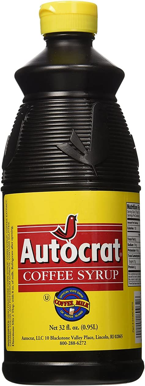 It appears i was not the only one, as the state legislature of rhode island made autocrat coffee milk the state drink in 1993. Autocrat Coffee Syrup 32 Oz | eBay