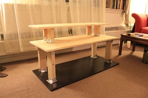 build a standing desk home depot how to build a standing desk for 50 joshua berman design
