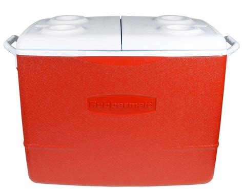 Rubbermaid 50 Qt. Insulated Red Cooler For .97 + Free Black Car Party In The Backyard Pablo Sanchez Baseball Discovery Prairie Ridge Swing Set Beach Theme Download Best Laying Hens For Makeover Shows Landscape Design