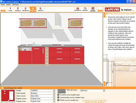 faire une cuisine en 3d des logiciels pour faire plan de cuisine en 3d