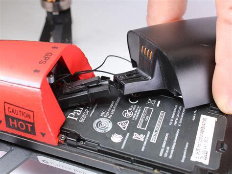 parrot bebop drone battery replacement ifixit repair guide