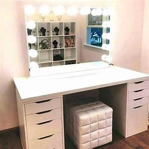 Coiffeuse Meuble Ikea : coiffeuse moderne spring coiffeuse moderne blanc laque ~ Teatrodelosmanantiales.com Idées de Décoration