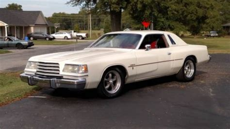 The businessman's express gets a sporty suit. 1978 Dodge Magnum 400 V8 Automatic For Sale in Inman ...