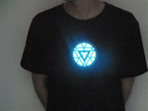iron 3 t shirt led t shirts light up led iron
