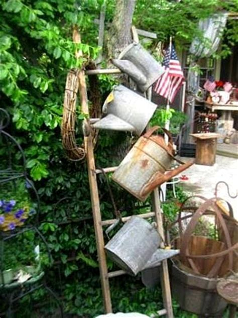 Garden ladder projects you can do!   Flea Market Gardening