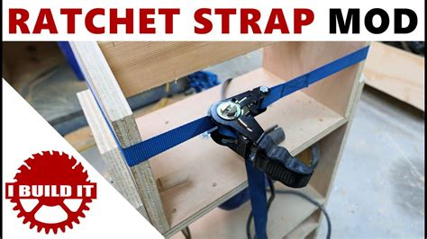 ratchet strap  strap clamp cheap easy youtube