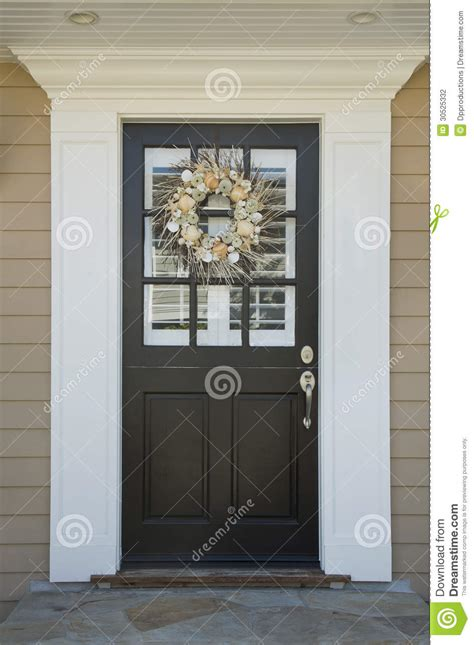 front door   upscale home stock photo image