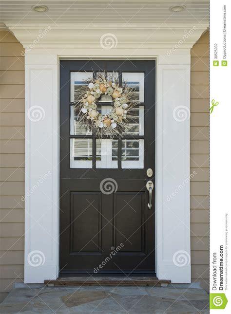 front door   upscale home stock photo image