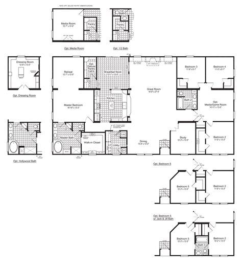 evolution vrc manufactured home floor plan